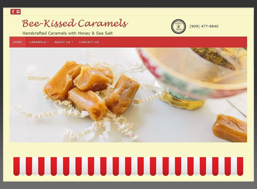 Bee-KissedCaramels-Website-Sample