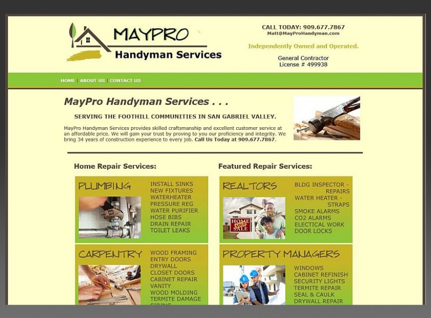 MayProHandyman-Website-Sample